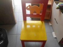 30.05.2018  K rzesełko dziecięce drewniane