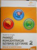 08.08.2018 K urs Pamięć, Koncentracja, Szybkie Czytanie – DVD 2 komplety