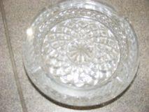 Popielniczka kryształowa