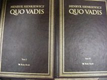 Książki 2 tomy Quo Vadis