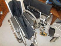Wózki inwalidzkie 3 szt.