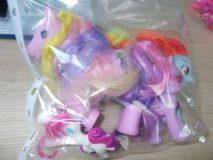 26.06.2019 K ucyki Pony 3 szt. komplet