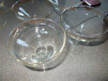 Pucharki do lodów 4 szt. komplet