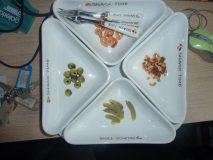 Komplet 5 talerzy