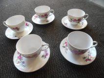 Filiżanki do herbaty 5 szt. komplet