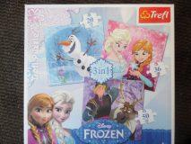 Puzzle Frozen 3 w 1