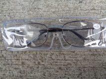 Okulary +4